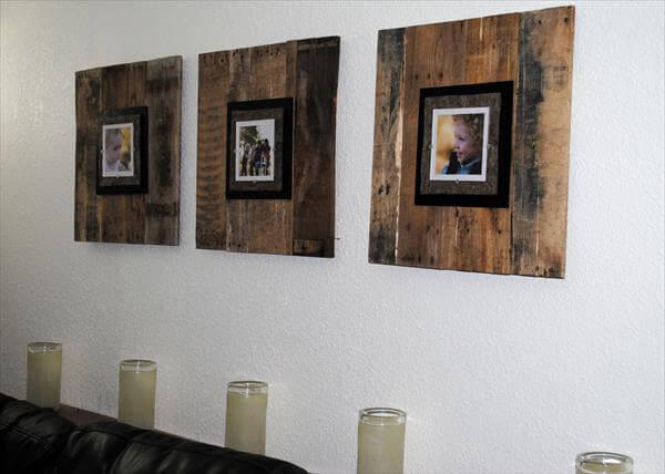 DIY Pallet Picture Frame | Pallet Furniture DIY