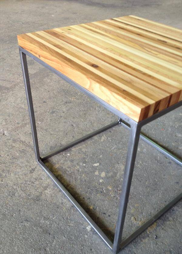 how to make a bedside table out of wood