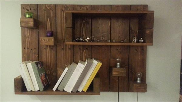 DIY Pallet Hanging Shelf | Pallet Furniture DIY