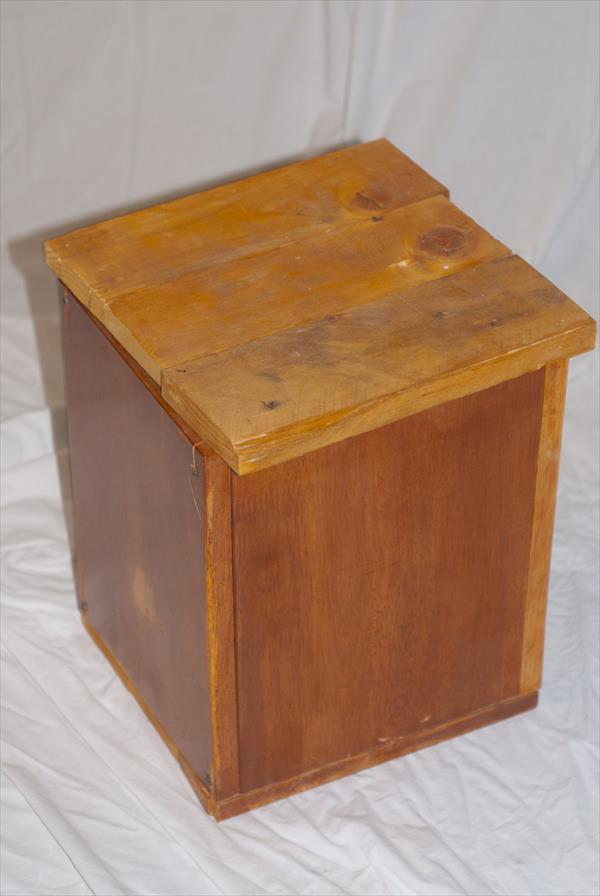 DIY Handmade Recycled Pallet Wooden Box | Pallet Furniture DIY