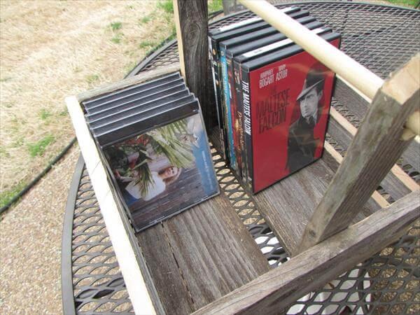 upcycled pallet storage basket