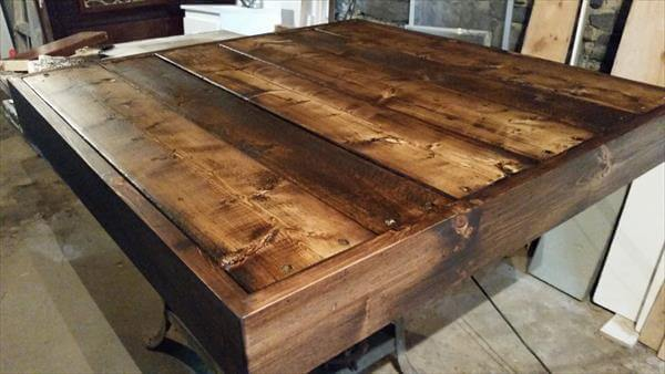 Diy storage able pallet coffee table pallet furniture diy