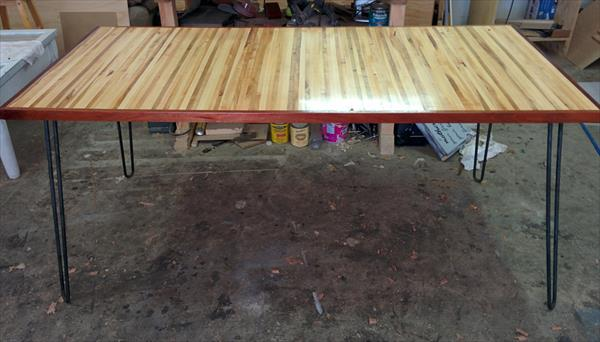 recycled pallet kitchen table and dining table
