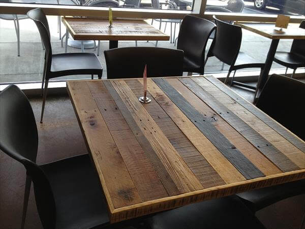 DIY Pallet Table Tops | Pallet Furniture DIY