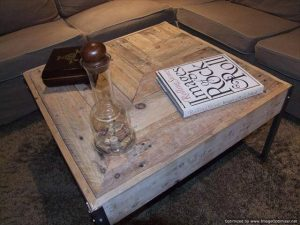 living room pallet coffee table
