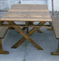handmade pallet picnic coffee table