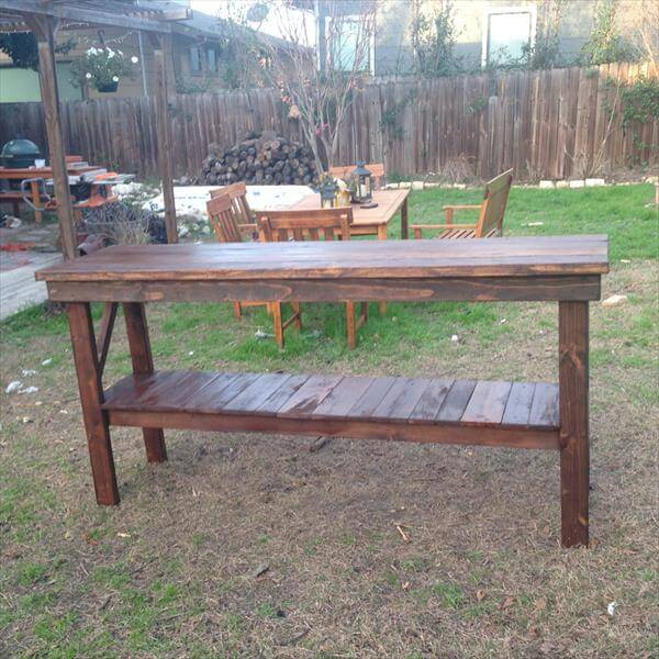 recycled pallet entry wal table