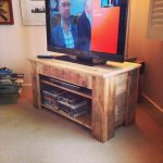 Pallet Wood Console Table / TV Stand