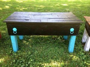 reclaimed pallet garden benches and coffee tables