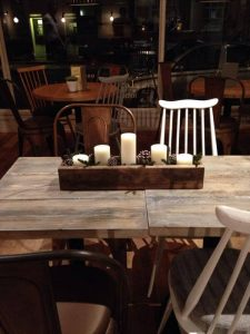 rustic pallet decorative table box