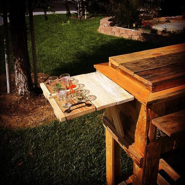 cooler diy wood pallet outdoor cooler diy rustic outdoor pallet cooler ...