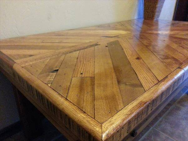 DIY Wooden Pallet Made Coffee Table Pallet Furniture DIY