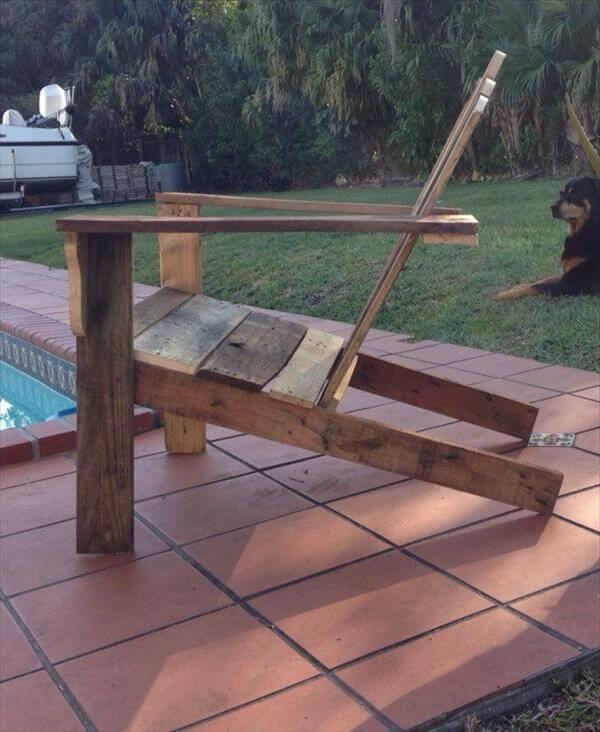 DIY Rustic Pallet Adirondack Chair | Pallet Furniture DIY