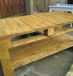 upcycled pallet rustic pallet coffee table
