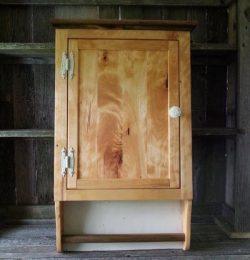 handmade wooden pallet wall cabinet