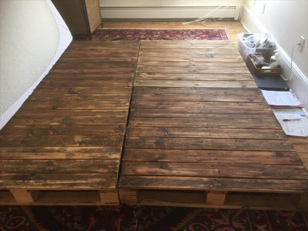 related posts diy pallet platform bed diy pallet bed with storage ...