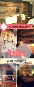 Pallet Wood Wall Projects