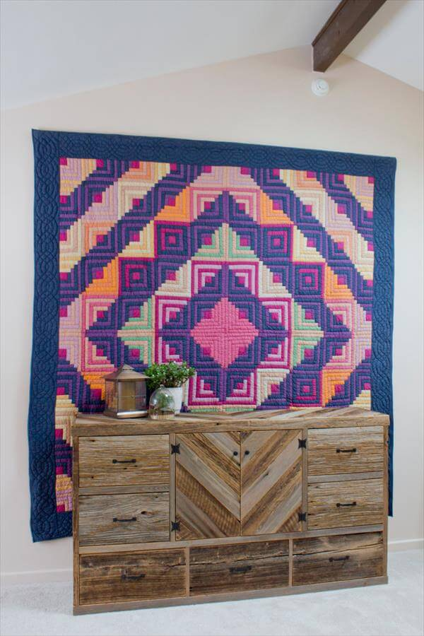 upcycled pallet wood dresser and sideboard