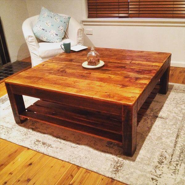 ... coffee table diy pallet vintage inspired coffee table diy pallet