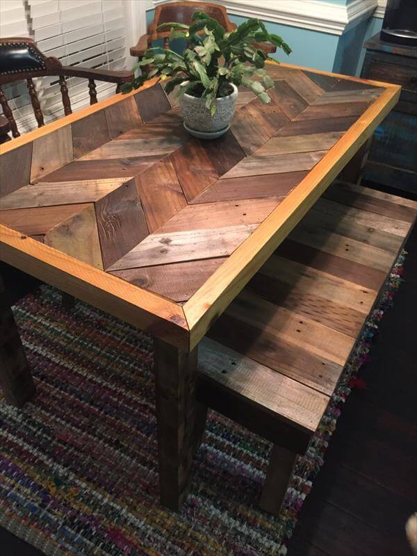 14 Different Ideas on Pallet Tables 12 DIY Pallet Coffee Tables with ...