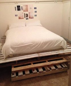 recycled pallet tag mahal bed
