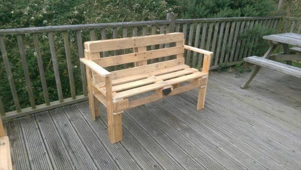 ... bench reclaimed wood pallet bench pallet and reclaimed boat seat bench