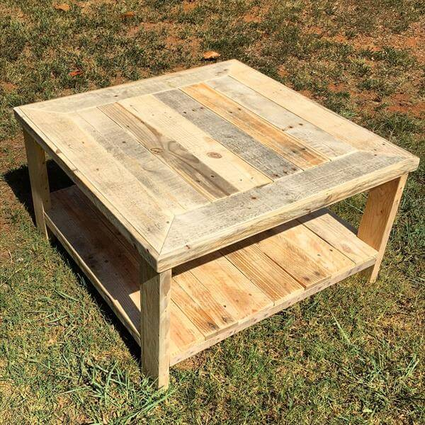 diy pallet round coffee table pallet and barn wood coffee table diy ...