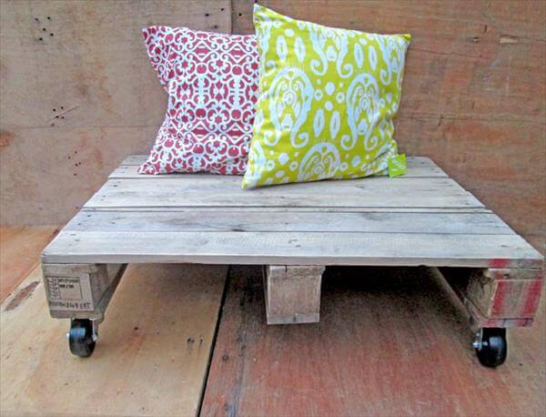 pallet low coffee table