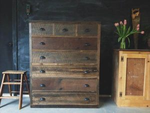 recycled pallet antique dresser table