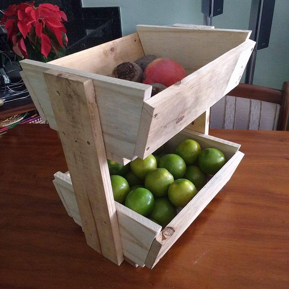 pallet fruit basket