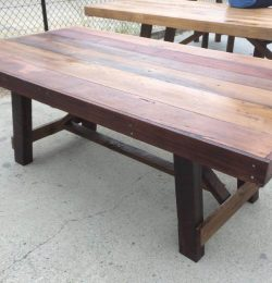 accent pallet coffee table