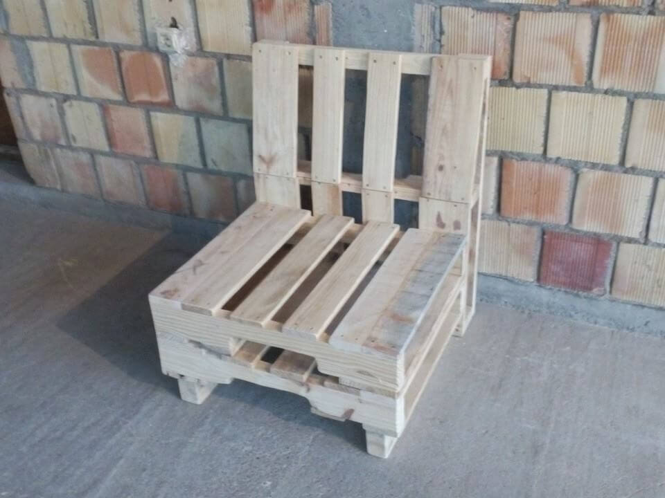 Recycled cute chair