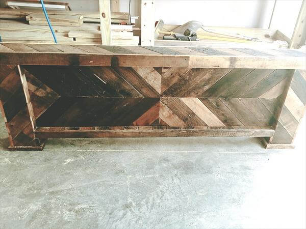 low cost pallet footboard