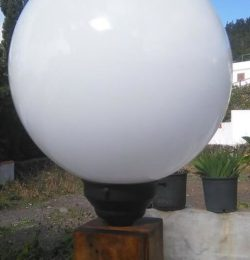 upcycled wooden pallet light globe