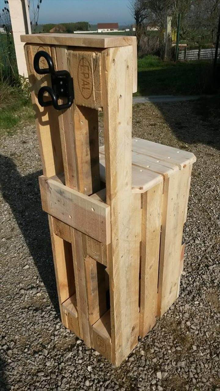 no-cost pallet fishing chair