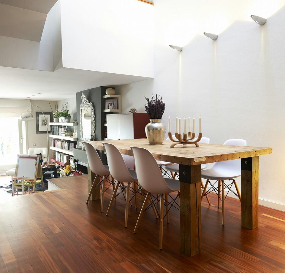 Wooden Pallet Dining Table | Pallet Furniture DIY