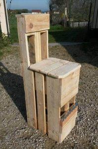 diy pallet fishing chair