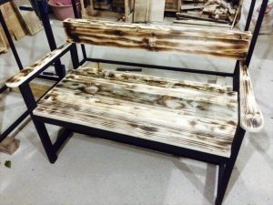 no-cost pallet bench