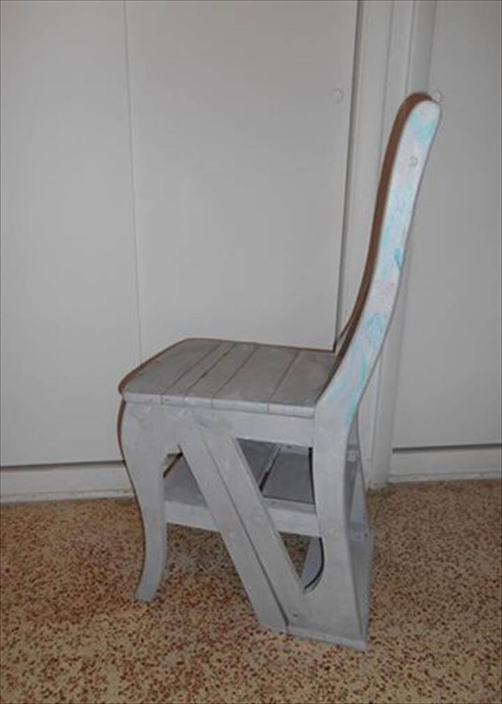 diy wooden pallet folding chair