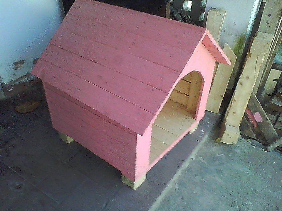 diy pallet pink painted pallet dog house
