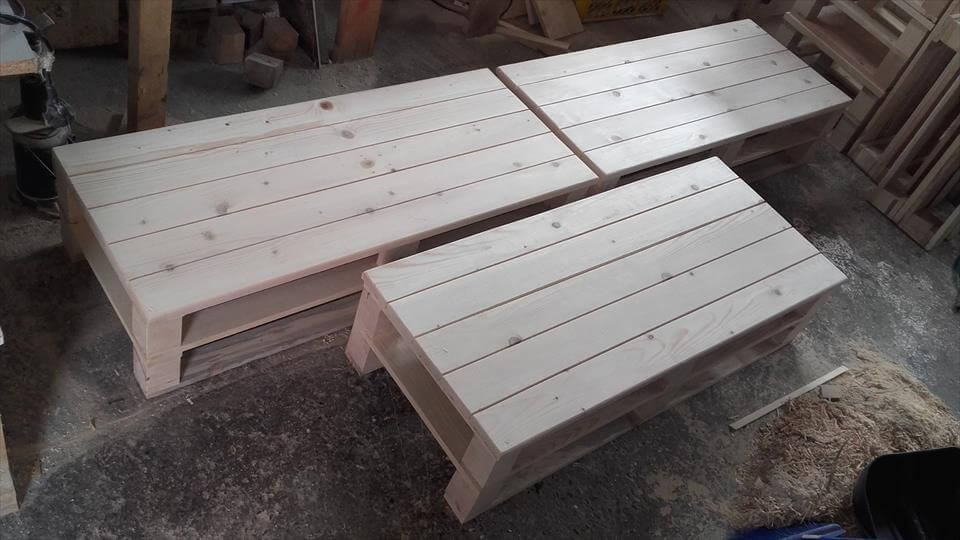diy pallet seating furniture