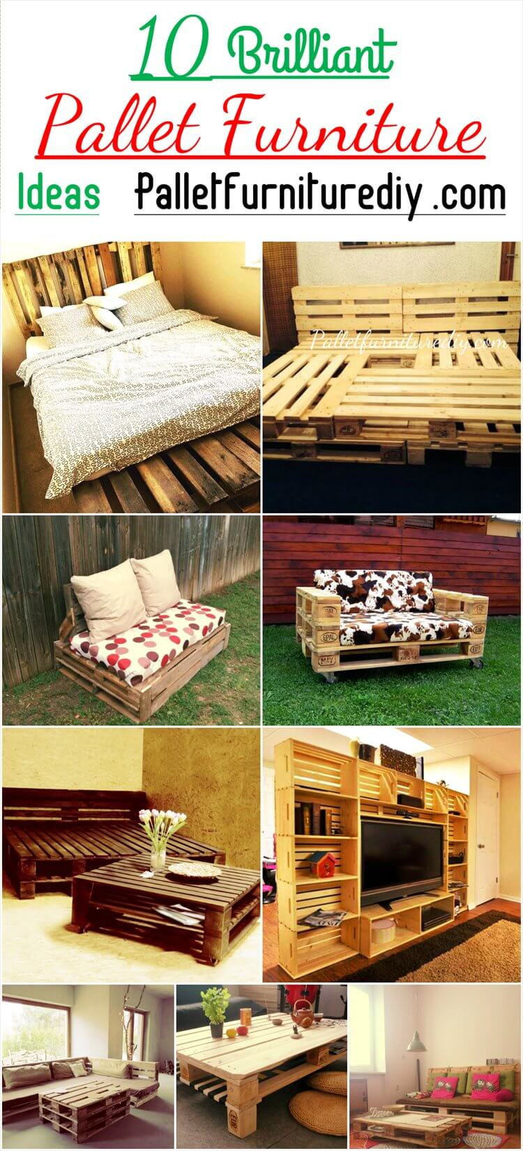 Pallet Furniture Ideas