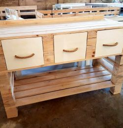 wooden pallet custom furniture