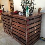 Bar Made from Pallets