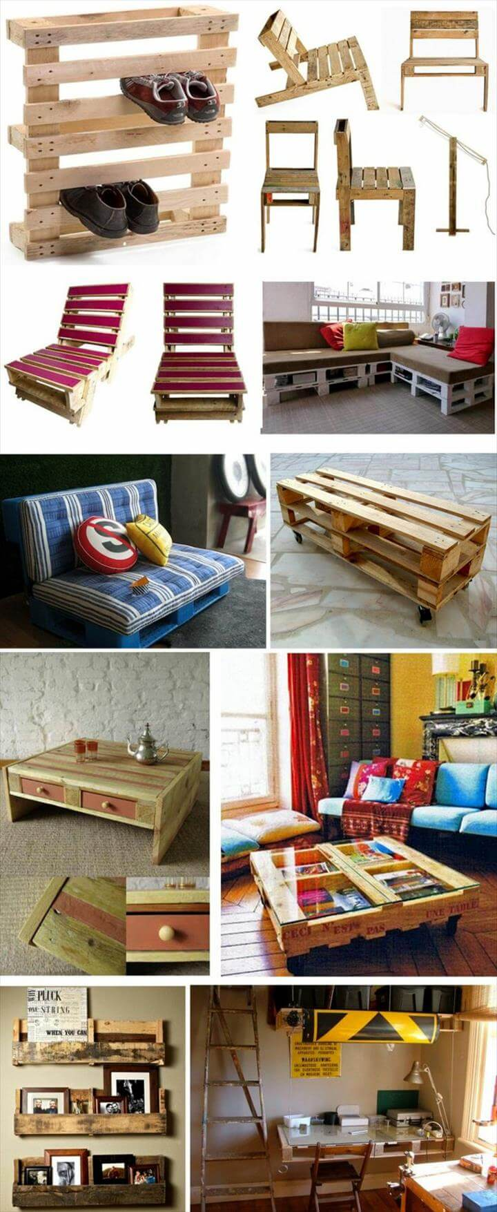 25 Renowned Pallet Projects amp Ideas Furniture