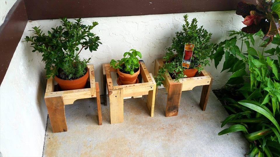 wooden pallet pot holders