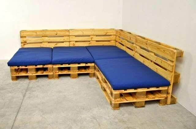 Pallet Sofas Arm And Sectional Furniture DIY