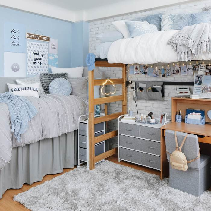 How to Turn Old Pallets Into College Dorm Decorations