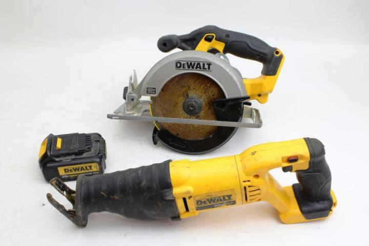 Reciprocating Saw vs. Circular Saw - which is best for the job?